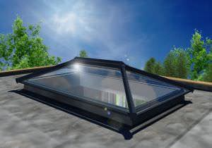 ULtraSky rooflight in grey