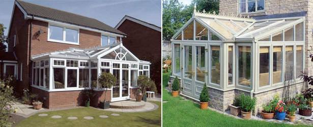 T-Shape Conservatory Style