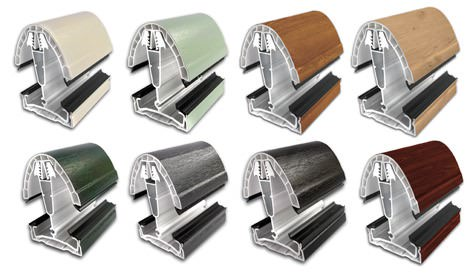 Ultraframes range of coloured foils for conservatories