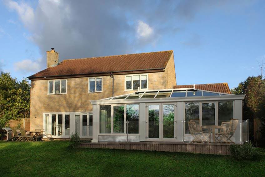 Loggia Extension Gallery Ultraframe