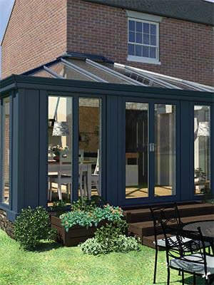 The Loggia range of Conservatories from Ultraframe